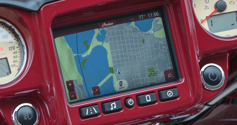 Indian Motorcycle® Ride Command® System